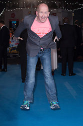 """Eddie """"The Eagle"""" Edwards attends the European premiere for """"Eddie the Eagle at Odeon Leicester Square in London, 17.03.2016. EXPA Pictures © 2016, PhotoCredit: EXPA/ Photoshot/ Euan Cherry<br /> <br /> *****ATTENTION - for AUT, SLO, CRO, SRB, BIH, MAZ, SUI only*****"""