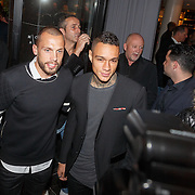 NLD/Amsterdam/20151110 - Life After Football Award 2015, Johnny Heitinga en Gregory van der Wiel