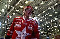 GET-ligaen Ice Hockey, 27. october 2016 ,  Stavanger Oilers v Stjernen<br />Marcus Bruhnisveen fra Stjernen etter kampen mot Stavanger Oilers<br />Foto: Andrew Halseid Budd , Digitalsport
