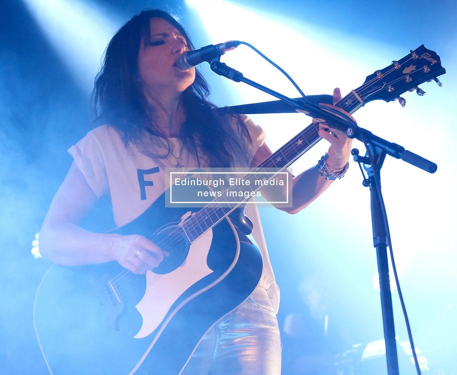 KT Tunstall at Barrowlands Glasgow, UK tour of album 'Wax'<br /> <br /> Pictured: KT Tunstall<br /> <br /> (c) Aimee Todd   Edinburgh Elite media