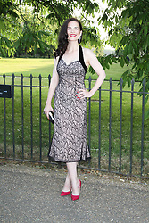 © London News Pictures. 26/06/2013. London, UK. Hayley Atwell at  The Serpentine Gallery summer party, Kensington Gardens London UK, 26 June 2013, Photo credit: Richard Goldschmidt/LNP