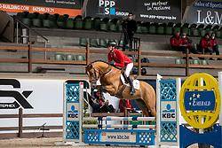 027, Sambuca JW van't Meulenhof, De Winter Jeroen<br /> Hengstenkeuring BWP- Azelhof - Lier  2021<br /> © Hippo Foto - Dirk Caremans<br />  13/04/2021