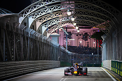 September 20, 2019, Singapore, Singapore: Motorsports: FIA Formula One World Championship 2019, Grand Prix of Singapore, .#33 Max Verstappen (NLD, Aston Martin Red Bull Racing) (Credit Image: © Hoch Zwei via ZUMA Wire)