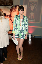 LILAH PARSONS at the Juicy Couture - Viva La Juicy perfume Party held at Home House, Portman Square, London on 30th May 2013.