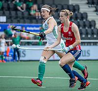 AMSTELVEEN -   Elena Rayer (Eng)    tijdens de wedstrijd dames , Ierland-Engeland (1-5) bij het  EK hockey , Eurohockey 2021.COPYRIGHT KOEN SUYK