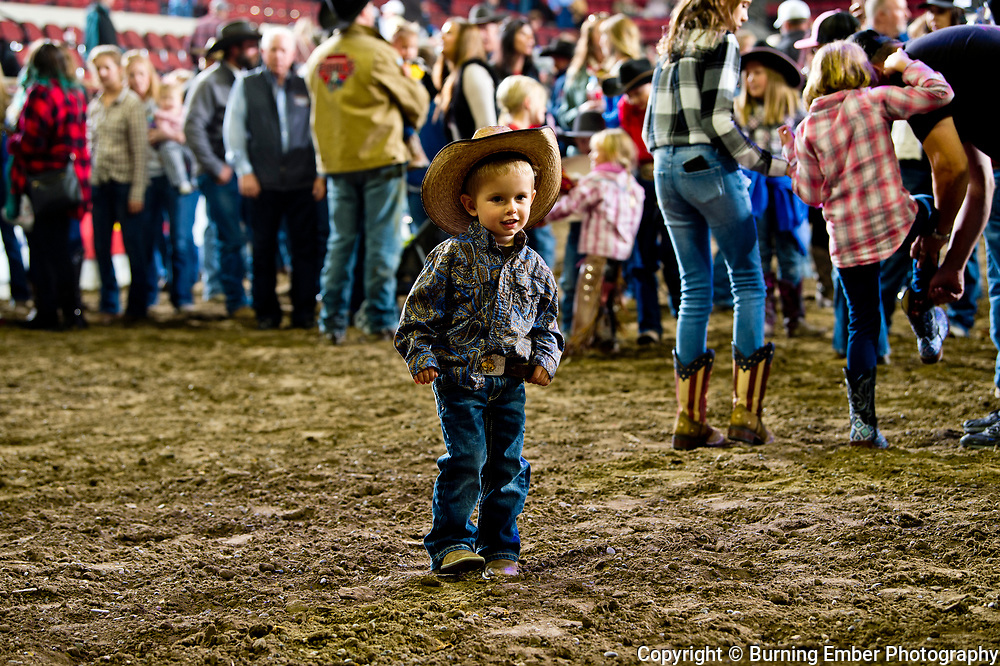 Kids enjoying the dance at the NILE Ranch Rodeo October 12th, 2019.  Photo by Josh Homer/Burning Ember Photography.  Photo credit must be given on all uses.