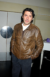 Chef JEAN-CHRISTOPHE NOVELLI  at a launch party for Kraken Opus's new luxury sports books held at Sketch, 9 Conduit Street, London W1 on 22nd February 2006.<br />