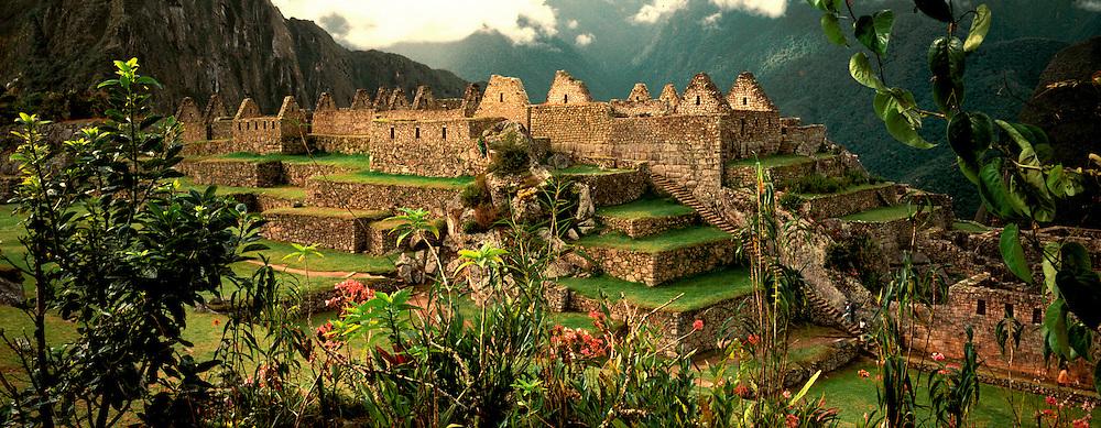 PERU, PREHISPANIC, INCA Machu Picchu; Common District