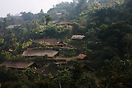 The Naga village of Longwa
