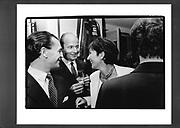 Prince Dmitri of Yugoslavia, Ghislaine Maxwell. . Upper West side party. Manhattan. 1995