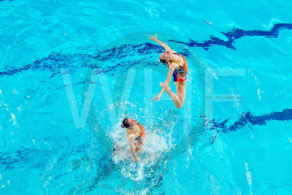 EK Synchroon zwemmen