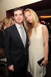 A party to promote the exclusive Puntacana Resort & Club - the Caribbean's Premier Golf & Beach Resort Destination, was held at The Groucho Club, 45 Dean Street London on 12th May 2010.<br /> <br /> Picture Shows:- LORD & LADY JAMES RUSSELL