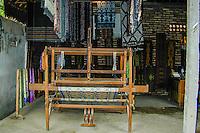 Bali, Karangasem, Tenganan. A traditional Bali Aga village. Tenganan is famous for its unique ikat textiles.