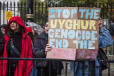 2019-10-23 Stop the Uighur Genocide protest