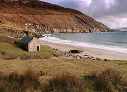 Keem Bay on Achill Island in county Mayo on west coast of Ireland