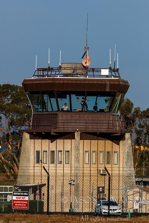 FAA air traffic control tower, Palo Alto Airport (KPAO), Palo Alto, California, United States of America