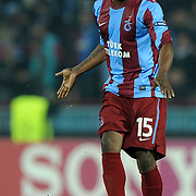 Trabzonspor's Deguy Alain Didier ZOKORA during their UEFA Champions League group stage matchday 5 soccer match Trabzonspor between Inter at the Avni Aker Stadium at Trabzon Turkey on Tuesday, 22 November 2011. Photo by TURKPIX