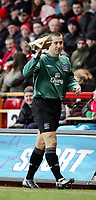 Fotball<br /> Premier League 2004/05<br /> Charlton v Everton<br /> 28. desember 2004<br /> Foto: Digitalsport<br /> NORWAY ONLY<br /> Everton Nigel Martyn went in the first half with an injury and was replced  by Richard Wright