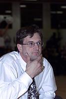 Basket, Ammerud-BK herrer semifinale NM mars 2000. BKs trener Ron Whitehead.