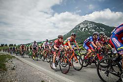 Gorazd Per (SLO) of KK Adria Mobil, Dusan Rajovic (SRB) of KK Adria Mobil during Stage 1 of 24th Tour of Slovenia 2017 / Tour de Slovenie from Koper to Kocevje (159,4 km) cycling race on June 15, 2017 in Slovenia. Photo by Vid Ponikvar / Sportida
