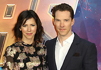Sophie Hunter, Benedict Cumberbatch, Avengers: Infinity War - UK Fan Event, London Television Studios, White City, London UK, 08 April 2018, Photo by Richard Goldschmidt