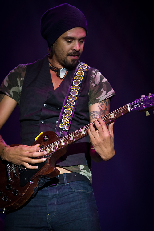 MICHAEL FRANTI performs with Spearhead at the Jazz Aspen Snowmass Labor Day Festival at the Snowmass Town Park.