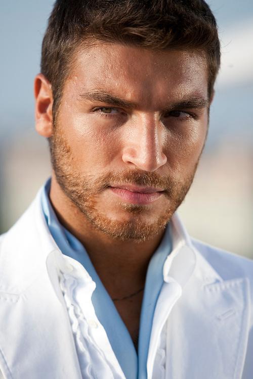 VALERIO PINO. TV host.
