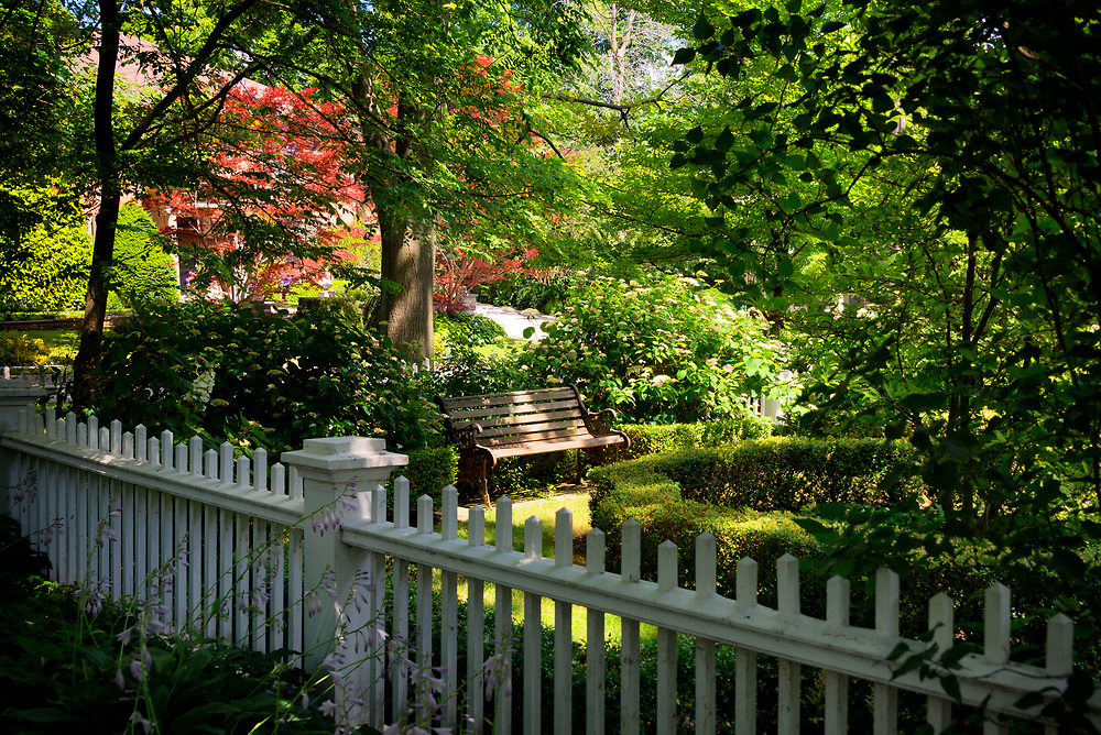 A tranquil nook in the centre of Oakville
