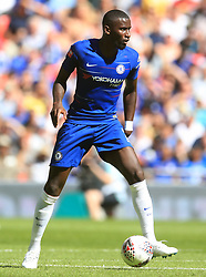 """Chelsea's Antonio Rudiger during the Community Shield match at Wembley Stadium, London. PRESS ASSOCIATION Photo. Picture date: Sunday August 5, 2018. See PA story SOCCER Community Shield. Photo credit should read: Adam Davy/PA Wire. RESTRICTIONS: EDITORIAL USE ONLY No use with unauthorised audio, video, data, fixture lists, club/league logos or """"live"""" services. Online in-match use limited to 75 images, no video emulation. No use in betting, games or single club/league/player publications."""