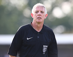 August 28, 2017 - London, United Kingdom - Referee Paul Quick.during Bostik League Premier Division match between Thurrock vs Billericay Town at  Ship Lane Ground, Aveley on 28 August 2017  (Credit Image: © Kieran Galvin/NurPhoto via ZUMA Press)