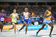 Mo Farah of Great Britain in the 3000m during the Sainsbury's Anniversary Games at the Queen Elizabeth II Olympic Park, London, United Kingdom on 24 July 2015. Photo by Phil Duncan.