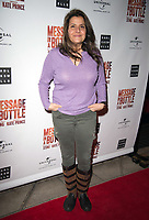 Nina Wadia at the Message in a Bottle press night , Peacock Theatre, London