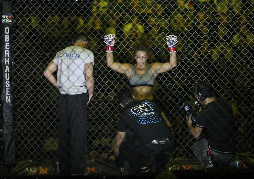 Kampfsport: MMA, We love MMA, Oberhausen, 31.01.2015<br /> Paulina Ioannidou (Combat Club Gologne)<br /> © Torsten Helmke