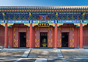 """The Summer Palace (Chinese: 頤和園), is a vast ensemble of lakes, gardens and palaces in Beijing. It was an imperial garden in the Qing Dynasty. Mainly dominated by Longevity Hill (万寿山; 萬壽山) and Kunming Lake, it covers an expanse of 2.9 square kilometres, three-quarters of which is water.<br /> <br /> Longevity Hill is about 60 m high and has many buildings positioned in sequence. The front hill is rich with splendid halls and pavilions, while the back hill, in sharp contrast, is quiet with natural beauty. The central Kunming Lake, covering 2.2 square kilometres, was entirely man-made and the excavated soil was used to build Longevity Hill.<br /> <br /> In December 1998, UNESCO included the Summer Palace on its World Heritage List. It declared the Summer Palace """"a masterpiece of Chinese landscape garden design. The natural landscape of hills and open water is combined with artificial features such as pavilions, halls, palaces, temples and bridges to form a harmonious ensemble of outstanding aesthetic value""""."""