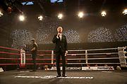 BOXEN: EC Boxing, Hamburg, 06.07.2019<br /> Weltergewicht IBO-Weltmeisterschaft: Sebastian Formella (GER) - Tulani Mbenge (RSA): Jimmy Lennon jr.<br /> © Torsten Helmke