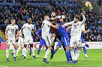 Football - 2018 / 2019 Premier League - Cardiff City vs. Wolverhampton Wanderers<br /> <br /> Rui Pedro dos Santos Patrício of Wolverhampton Wanderers punches clear , at Cardiff City Stadium.<br /> <br /> COLORSPORT/WINSTON BYNORTH