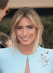 January 21, 2018 - Los Angeles, California, U.S - TV personality Renee Bargh at the red carpet of the 24th Annual Screen Actors Guild Awards held at the Shrine Auditorium in Los Angeles, California, Sunday January 21, 2018. (Credit Image: © Prensa Internacional via ZUMA Wire)