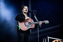 June 17, 2018 - Landgraaf, Limburg, Netherlands - Clemens Rehbein of Milky Chance performing live at Pinkpop Festival 2018 in Landgraaf Netherlands  (Credit Image: © Roberto Finizio/NurPhoto via ZUMA Press)