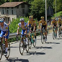 15-08-2020: Wielrennen: Il Lombardia: Como<br />Evenepoel crasht in Lombardije