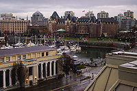 Empress Hotel & Downtown Victoria, British Columbia, Canada