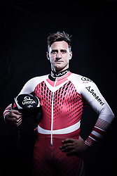 12.10.2019, Olympiahalle, Innsbruck, AUT, FIS Weltcup Ski Alpin, im Bild Matthias Mayer // during Outfitting of the Ski Austria Winter Collection and the official Austrian Ski Federation 2019/ 2020 Portrait Session at the Olympiahalle in Innsbruck, Austria on 2019/10/12. EXPA Pictures © 2020, PhotoCredit: EXPA/ JFK