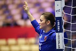 HERNING, DENMARK - DECEMBER 3, 2020: Petra Kudlackova during the EHF Euro 2020 Group C match between Sweden and Czech Republic in Jyske Bank Boxen, Herning, Denmark on December 3 2020. Photo Credit: Allan Jensen/EVENTMEDIA.