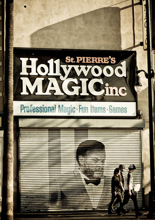 Images of Los Angeles during a solo photo walk along Hollywood Blvd.