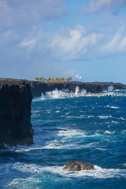 Coastline, Hawaii Volcanoes National Park, Kilauea Volcano, Big Island of Hawaii