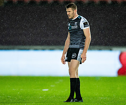 Tom Williams of Ospreys<br /> <br /> Photographer Simon King/Replay Images<br /> <br /> Guinness PRO14 Round 6 - Ospreys v Connacht - Saturday 2nd November 2019 - Liberty Stadium - Swansea<br /> <br /> World Copyright © Replay Images . All rights reserved. info@replayimages.co.uk - http://replayimages.co.uk