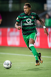 Jean Paul Boetius of Feyenoord during the Dutch Eredivisie match between Heracles Almelo and Feyenoord Rotterdam at Polman stadium on September 09, 2017 in Almelo, The Netherlands