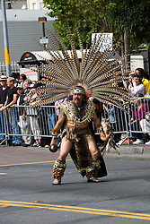 California: San Francisco Carnaval festival parade in the Mission District. Photo copyright Lee Foster. Photo # 30-casanf81295b