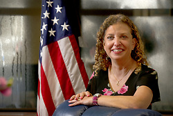 August 3, 2017 - Sunrise, FL, USA - U.S. Rep. Debbie Wasserman Schultz (D-Fla.) photographed in her Sunrise, Fla., office. (Credit Image: © Mike Stocker/TNS via ZUMA Wire)