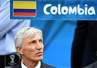 Trainer Jose Pekerman (Kolumbien)<br /> Fussball, FIFA WM 2014 Vorrunde, <br /> Colombia - Elfenbenskysten<br /> Norway only