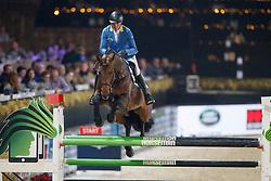 Van Olst Mike, BEL, Corico Z<br /> Vlaanderens Kerstjumping<br /> Memorial Eric Wauters<br /> Jumping Mechelen 2017<br /> © Hippo Foto - Dirk Caremans<br /> 27/12/2017